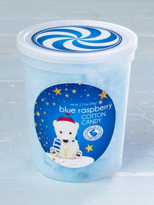 Holiday Friends Blue Raspberry Cotton Candy