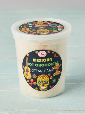 tub of mexican hot chocolate Cotton Candy